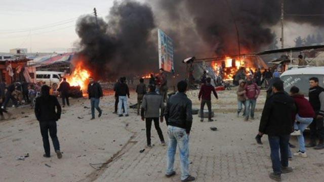 MSB'den açıklama: Terör örgütü Azez'de 7 masum sivili katletti