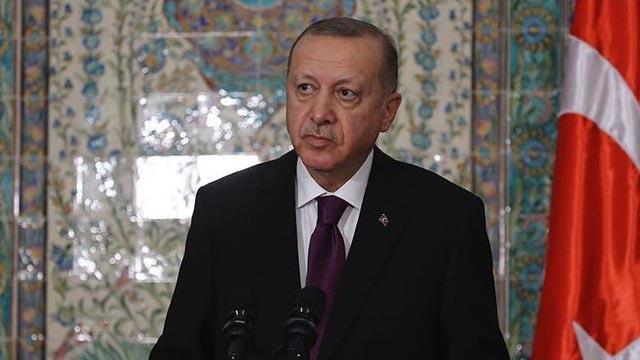 Başkan Erdoğan, Cezayir Ulusal Halk Meclisi Başkanı Süleyman Şinnin'i kabul etti