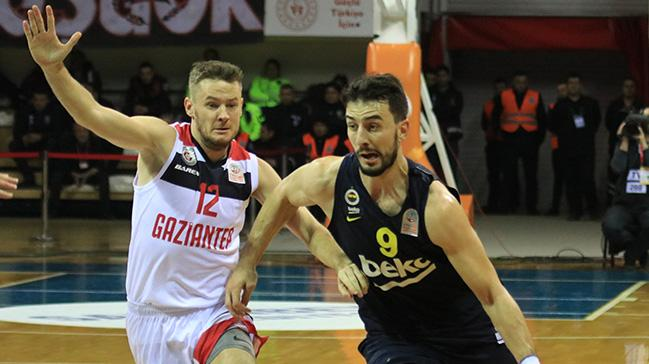 Gaziantep Basketbol'dan Fenerbahçe Beko'ya büyük sürpriz