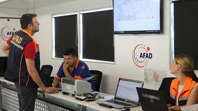 AFAD açıkladı: 826 artçı deprem meydana geldi