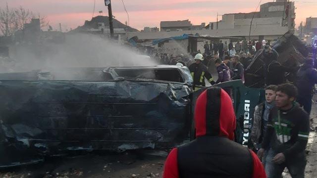 Son dakika... Suriye-Türkiye sınırında bombalı terör saldırısı! 5 sivil hayatını kaybetti