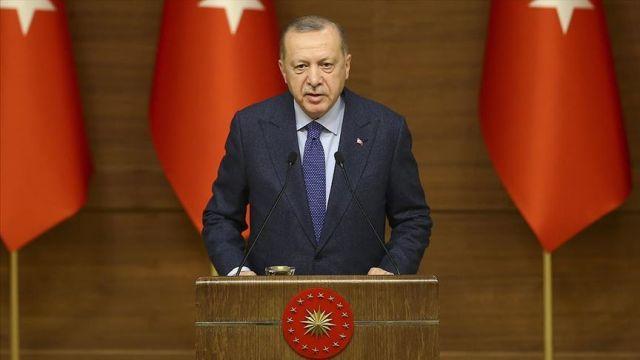 Başkan Erdoğan Elazığ'a destek olan hayırseverlere teşekkür etti