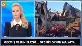 Müge Anlı Elazığ depremi hakkında konuştu: 'Bu kader değil... Bir mahalle ayakta dururken, 2 bina yıkılıyor?
