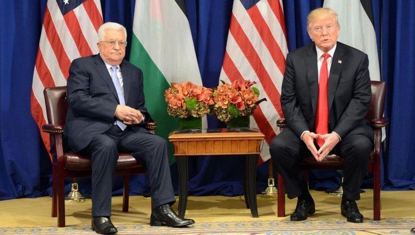 Filistin Devlet Başkanı Mahmud Abbas, Trump'ın telefonla görüşme talebini reddetti!