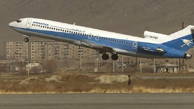 Afganistan'da  Ariana Afgan havayollarına ait bir uçak düştü