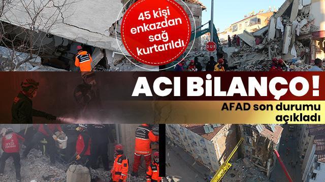 AFAD'dan son dakika açıklaması