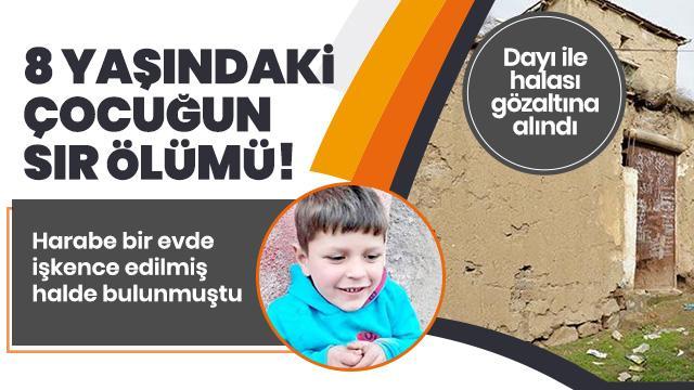 8 yaşındaki Muhammed Veli Dümez'in sır ölümü