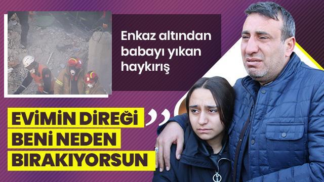 Elazığ'da elini tutamadığı için oğlu ölen babanın son sözleri yürek burktu!