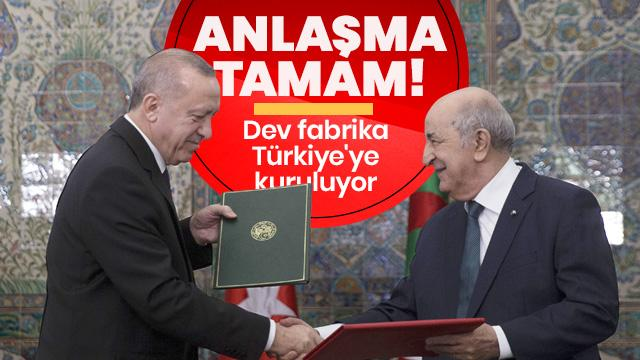 Türkiye ve Cezayir anlaştı! Dev fabrika Adana'ya kuruluyor