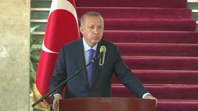 Başkan Erdoğan: Dünyadaki 10 dev projenin 6'sı Türkiye'de