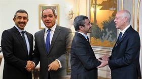Başkan Erdoğan'dan hemen sonra bölgeye gitti