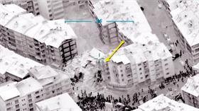 Deprem gecesi milli İHA detayı: 25 dakikada gündüz gibi