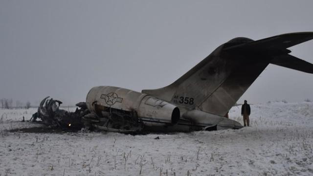 ABD,  Afganistan'da askeri uçağın düştüğünü doğruladı