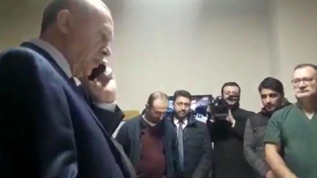 Başkan Erdoğan, depremzede anneyi üzmeyerek iki oğlu için izin ayarladı