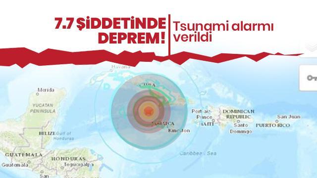 Güney Amerika'yı sallayan 7.7 şiddetinde deprem! Tsunami alarmı verildi
