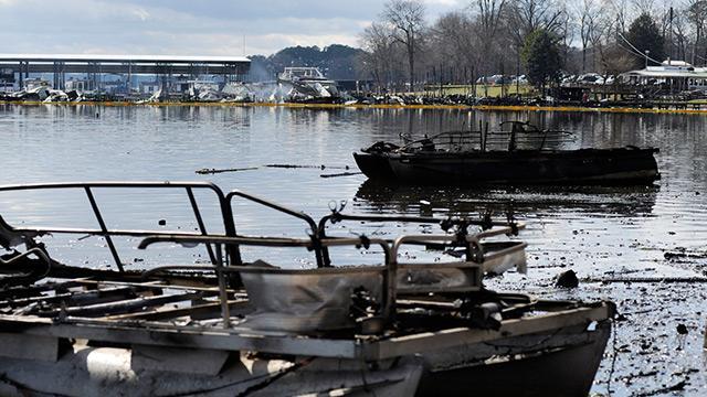 ABD'nin Alabama eyaletinde iskelede yangın: 8 kişi can verdi