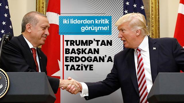 Beyaz Saray açıkladı! Trump, Türkiye'den talebini Erdoğan'a iletti