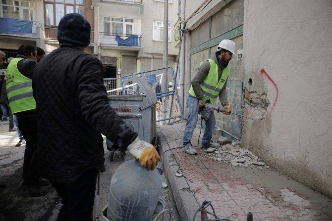 Elazığ'da hasar tespit çalışmaları başladı