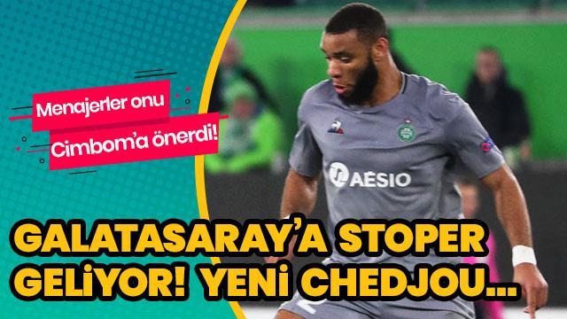 Galatasaray'a stoper transferi! Yeni Chedjou...