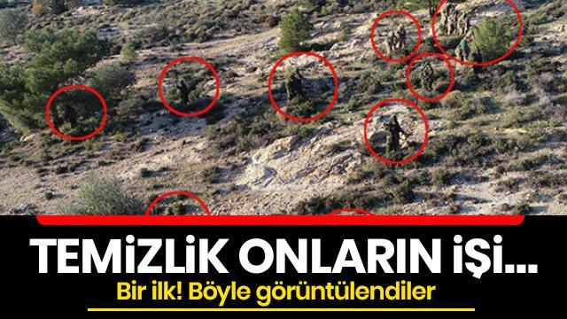 İşte tamamı gönüllü, erkek meslektaşlarını aratmayan Türkiye'nin ilk kadın Jandarma Komando Astsubayları!