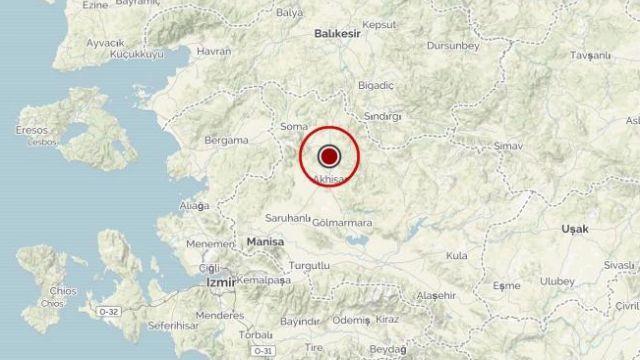 Türkiye beşik gibi sallanıyor! Manisa'nın Akhisar ilçesinde 4,7 büyüklüğünde deprem meydana geldi
