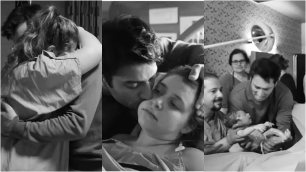 Hande Erçel'in ablası Gamze Erçel doğum anını paylaştı! Doğumhaneyi değil de hastane odasını tercih etmesi şaşırttı
