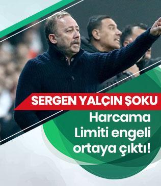 Beşiktaş'ta Sergen Yalçın'ın topbaşı yapmasına harcama limiti engeli