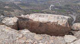 Adıyaman'da hasar oluşan Arsemia Ören Yeri ziyaretçilere kapatıldı