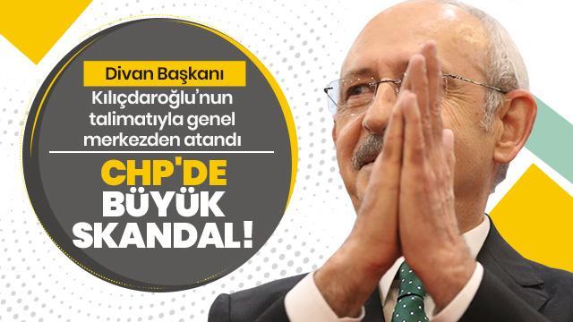 CHP'de büyük skandal! Divan Başkanı, Kılıçdaroğlu'nun talimatıyla genel merkezden atandı