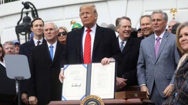 Trump ABD-Meksika-Kanada Ticaret Anlaşması'nı imzaladı! Yeni dönem resmen başladı