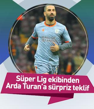Antalyaspor Arda Turan transferi için devreye girdi