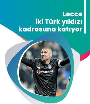 Lecce iki Türk yıldızı kadrosuna katıyor! Galatasaray ve Beşiktaş'a kötü haber...