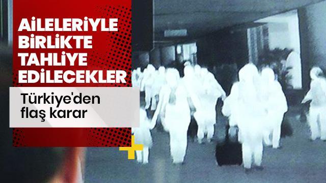 Türkiye, Çin'deki 32 vatandaşını aileleriyle tahliye edecek