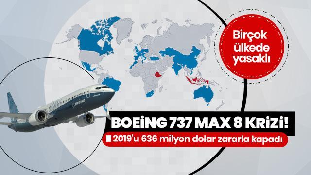 Boeing uçak şirketi 2019'u 636 milyon dolar zararla kapadı
