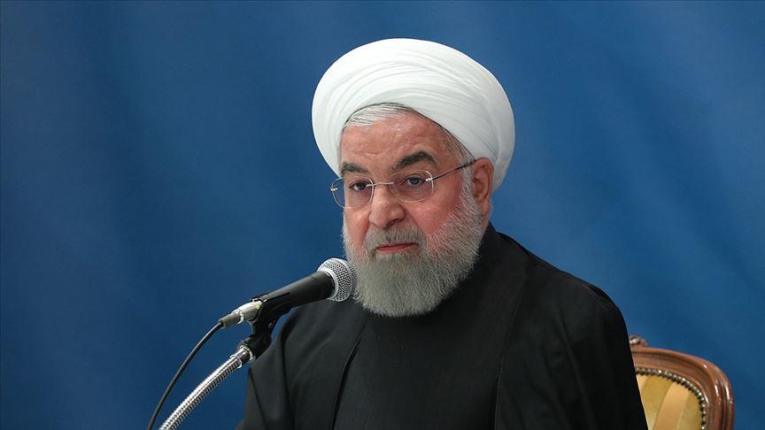 Ruhani'den Trump'ın sözde Orta Doğu planına tepki: Yüzyılın en alçak planı