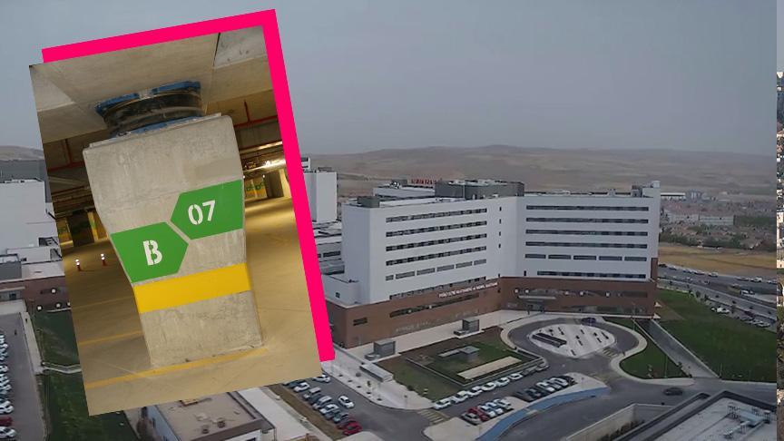 Fethi Sekin Şehir Hastanesi'nde müthiş sistem: 6,8'lik deprem 3.1 olarak hissedildi