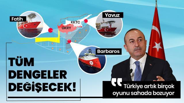 Dışişleri Bakanı Çavuşoğlu: Rumlar çözüme yanaşmadığı sürece haklarımızı yedirmeyeceğiz