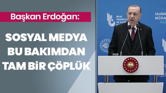 Başkan Erdoğan açılış töreninde