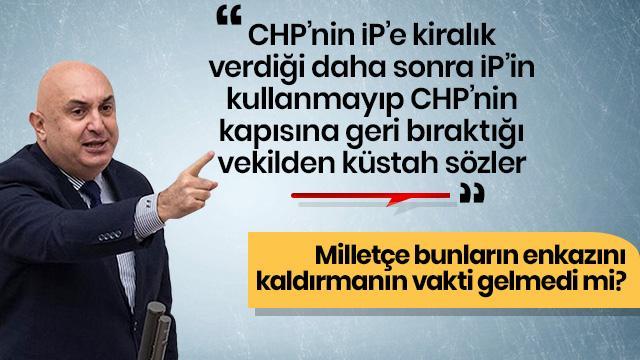 CHP'nin grup başkanvekili Engin Özkoç haddini iyice aştı, Başkan Erdoğan'a hakaretler savurdu