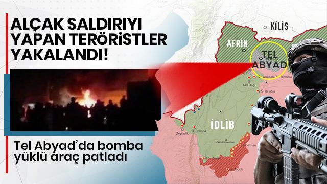 MSB duyurdu: Tel Abyad'da alçak saldırıyı yapan terörist yakalandı!