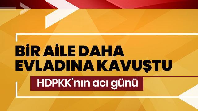 Diyarbakır'da eylem yapan ailelerden biri daha evladına kavuştu