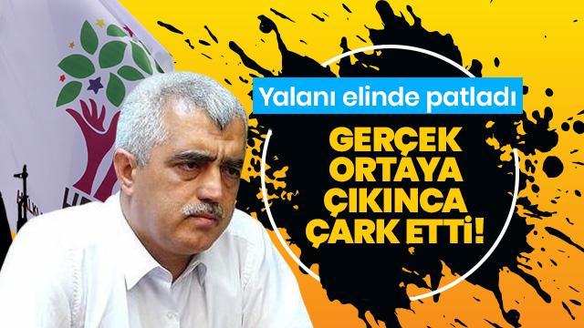 HDP'li vekil Gergerlioğlu'nun yalanı elinde patladı!