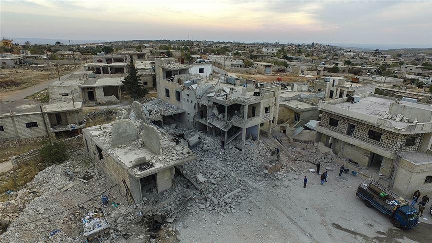 Fransız kanalından 'Rusya destekli Suriye ordusu İdlib'i düşürmek için saldırıyor' haberi