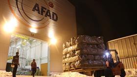 AFAD'dan deprem bölgesine 65 milyon lira yardım