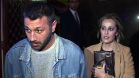 Helin Avşar, önceki gece yeni sevgilisi Umur Saçkın'la Arnavutköy'deydi