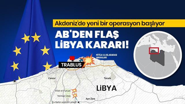AB, Akdeniz'de yeni operasyon başlatacak!