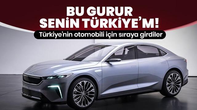 Dünyadan yoğun ilgi görüyor: 'Türkiye'nin Otomobili'ni istediler!
