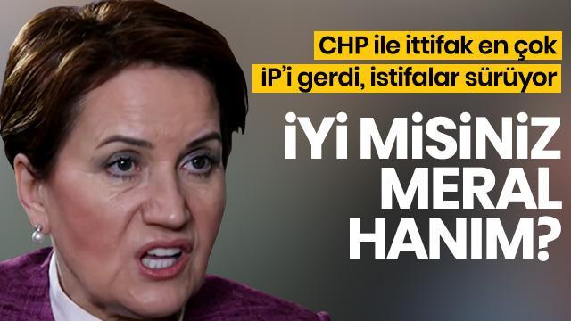İYİ Parti'de istifa rüzgarı devam ediyor!