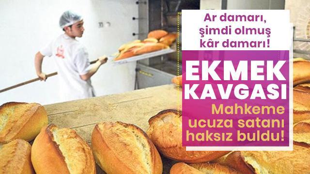 """Ucuz ekmek satan fırıncı """"haksız"""" bulundu"""