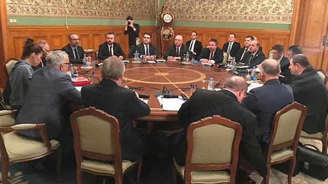 Türk ve Rus heyetlerin İdlib toplantısı bitti
